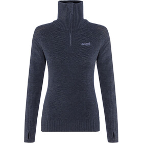 Bergans Ulriken Jumper Damen dark blue mel